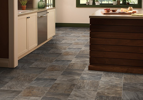 Laminate flooring that looks like tile for kitchen