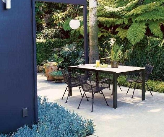 Garden flooring ideas beautify the garden naturally for Terrace white