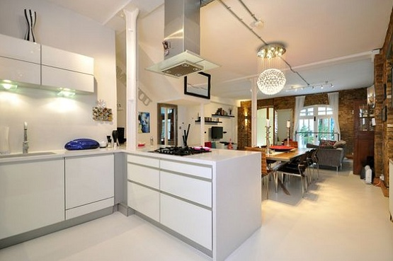 Superior Rubber Floor Paint Stands Out In The Entire House » White Rubber Floor  Paint In Kitchen