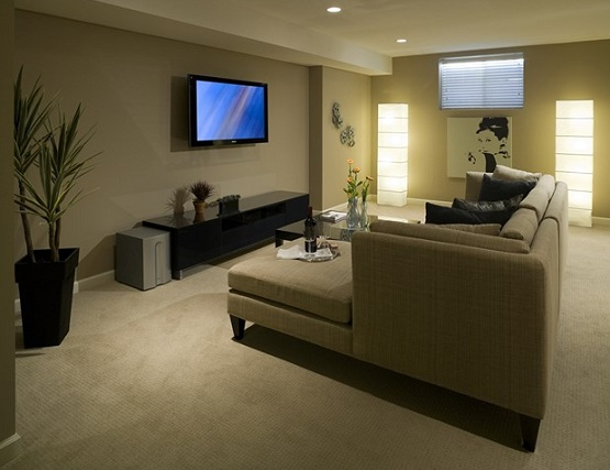 Basement rubber flooring ideas