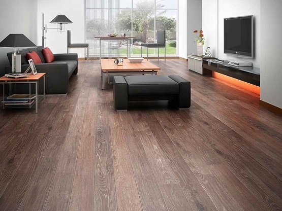 Vintage style wood flooring options for living room