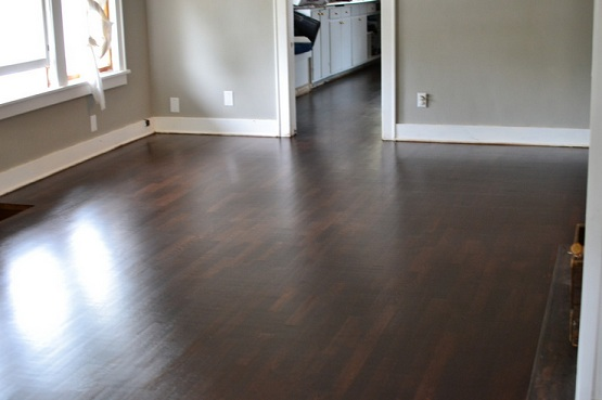 Dark hardwood floor stain colors for oak