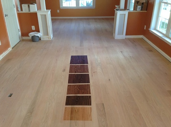 Color trends in red oak floor stain ask home design for Hardwood floor colors