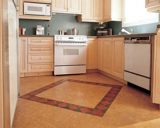 Soft flooring options for kitchen with cork flooring tiles