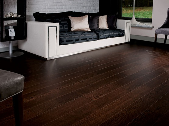 Dark Hardwood Floors ~ Dark wood floor living room in exhilarating styles and