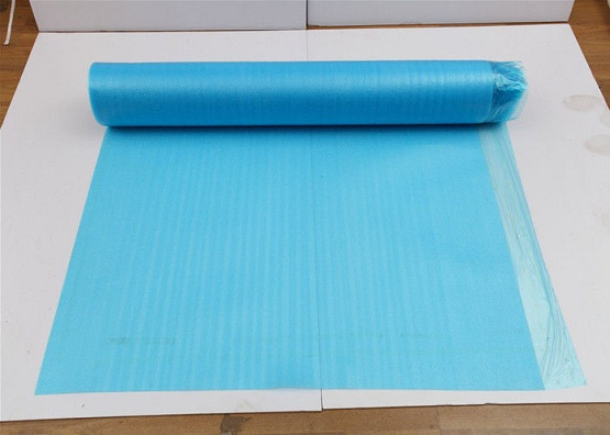 2 mm blue foam underlay for laminate flooring
