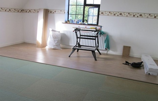 6mm fibreboard underlay for laminate flooring
