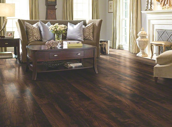 Antique oak laminate flooring with 12mm thickness