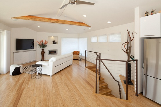 Bamboo flooring as cheap flooring alternatives ideas