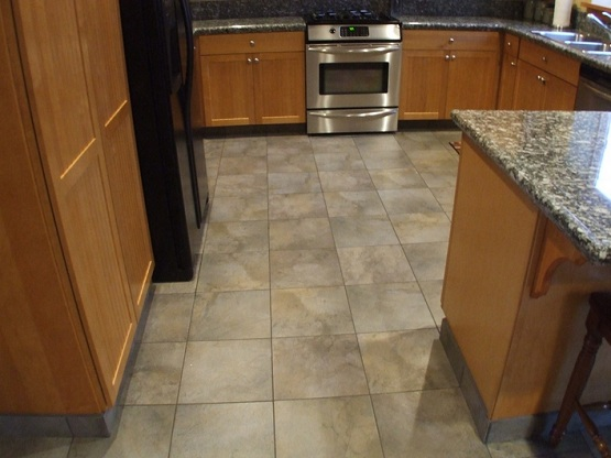 Cheap porcelain tile flooring alternatives for kitchen floor