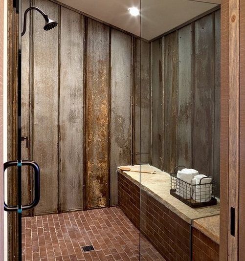 Brilliant  With Brick Walls 39 Stylish Bathrooms With Brick Walls And Ceilings